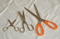 pair of scissors, scissors